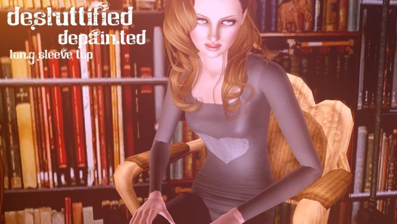 Three New Tops De-Sluttified De-Painted [Heart] Non-sl12