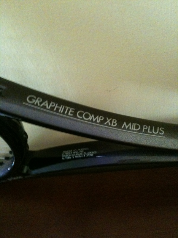 Prince Graphite Comp XB midplus Foto_211