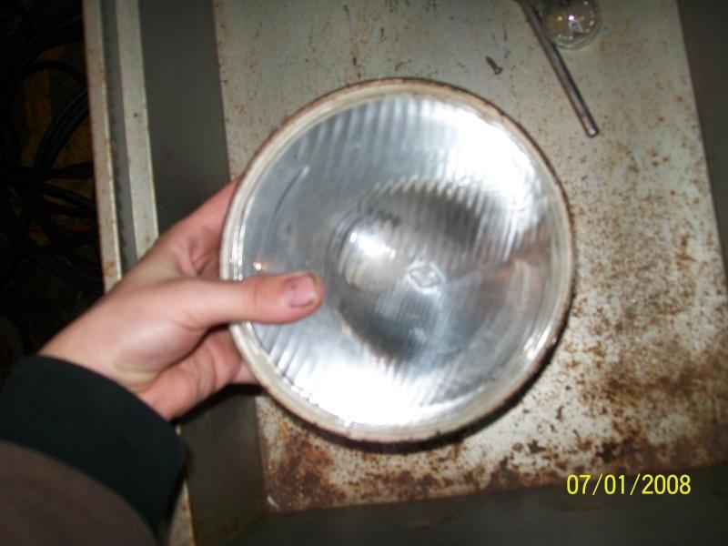 Reflector y vidrio de foco 293_0516