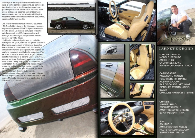 HONDA PRELUDE  TYPE R32 BY' SEB AUTO - Page 3 Mag_9_10