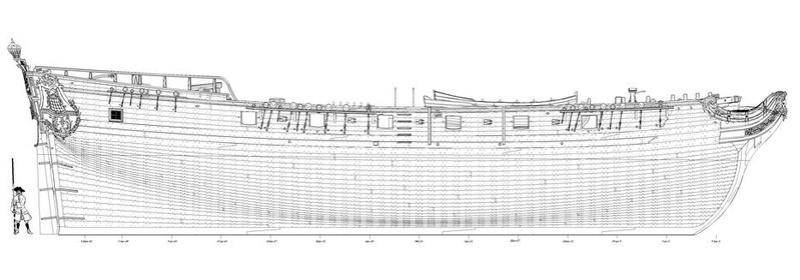 MONOGRAPHIE : Les corvettes de 12 canons , L'AMARANTE 1747 2310