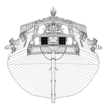 MONOGRAPHIE : Les corvettes de 12 canons , L'AMARANTE 1747 2410