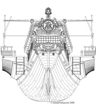 MONOGRAPHIE :  Les galères de Louis XIV : LA FLEUR DE LIS Arrier10