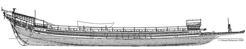 MONOGRAPHIE :  Les galères de Louis XIV : LA FLEUR DE LIS Ge12