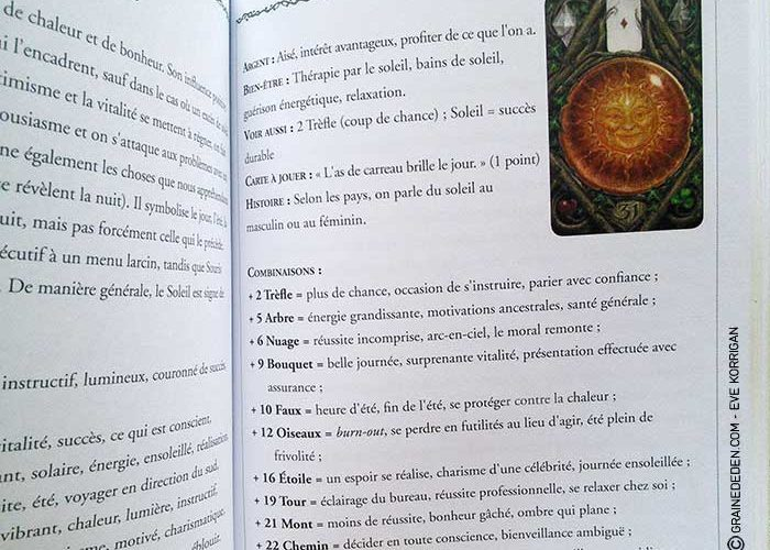 Coffret Oracle divinatoire / The Enchanted Lenormand ► Caitlin Matthews - Page 2 Lenorm12