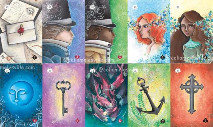 versions - Les différentes versions des  cartes Lenormand - Page 15 Tanis110