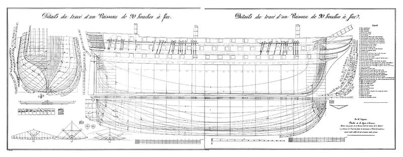 Vaisseau de 90 canons Traité de Capponi Dytail10