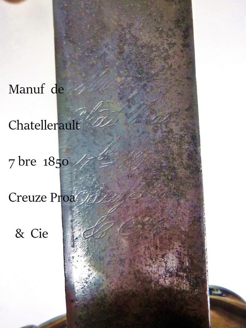 Sabre à coquille Napoléon III (ou 3° République) 1850_g15