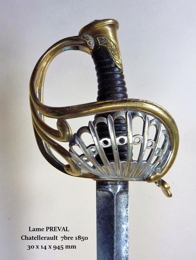 Sabre à coquille Napoléon III (ou 3° République) P1090310