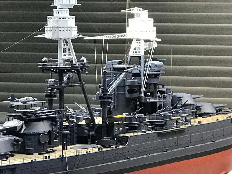 USS ARIZONA 1/200 TRUMPETER - Page 6 Fullsi13