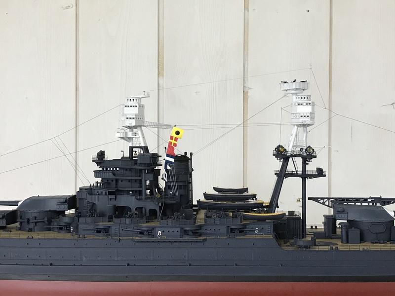 USS ARIZONA 1/200 TRUMPETER - Page 6 Fullsi17