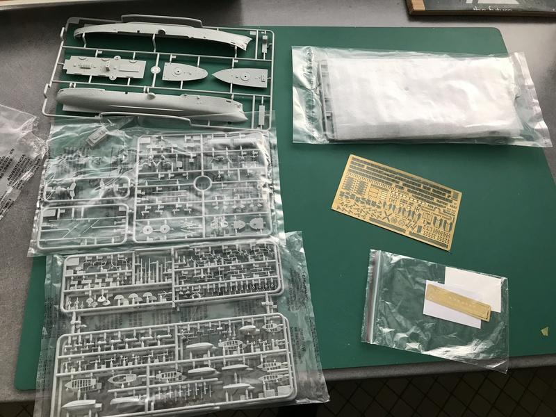 IMPERIAL CHINESE PEIYANG FLEET CRUISER- Chih Yuen - Bronco 1/350 Fullsi29