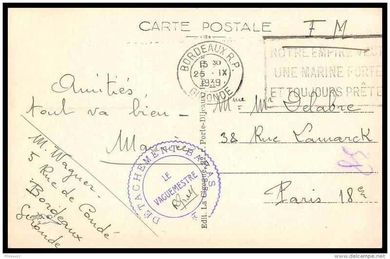 CPA en Franchise Militaire 183_0011