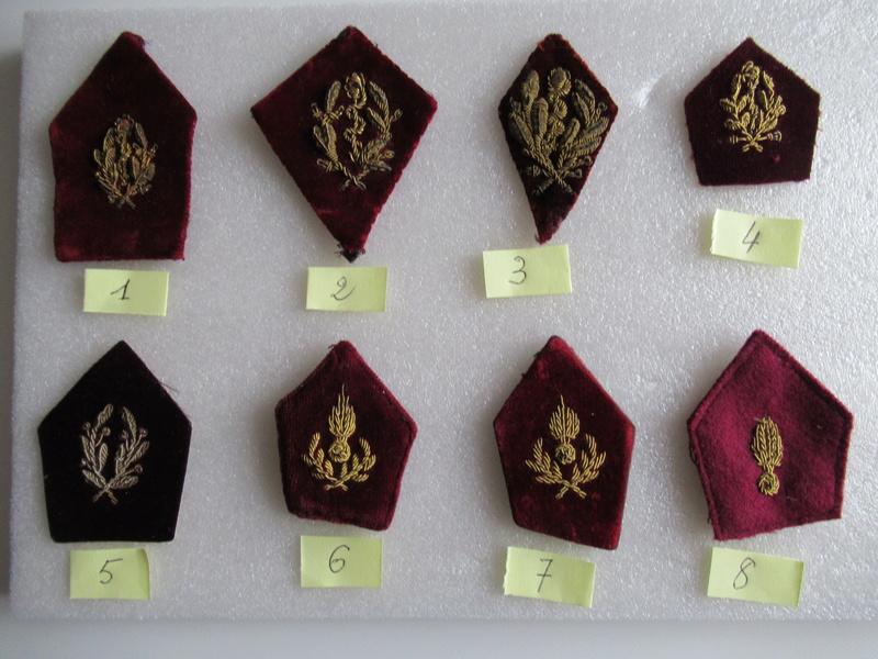 Insignes de col du service de Santé Img_0100