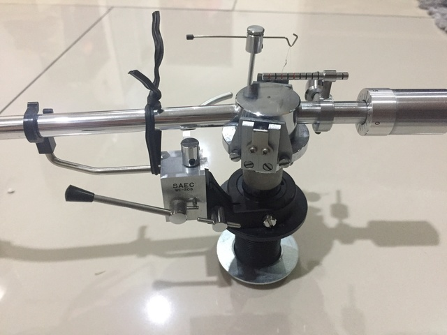 Saec WE-308 tonearm (SOLD) 2018-013