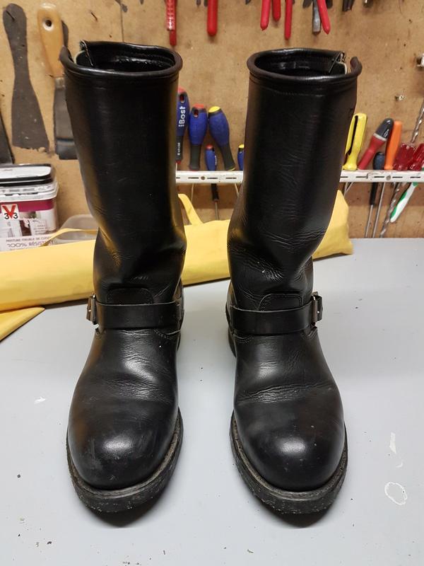 nouveau style e4455 ab8ed Vend bottes Carolina taille (grand) 41