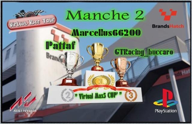 "Podium Championnat ""Virtual Max5 Cup"" Cat44e10"