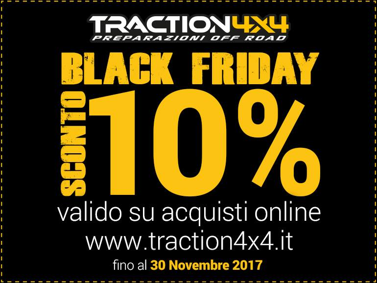 Non poteva mancare il Black Friday by Traction4x4!  23905310