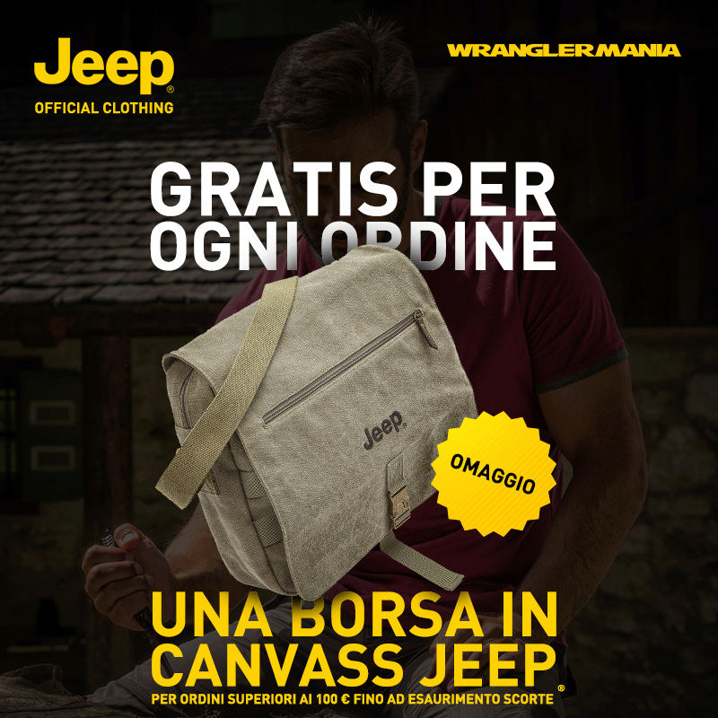 Jeep® Outfitter: borsa in canvass Jeep Jeepou10