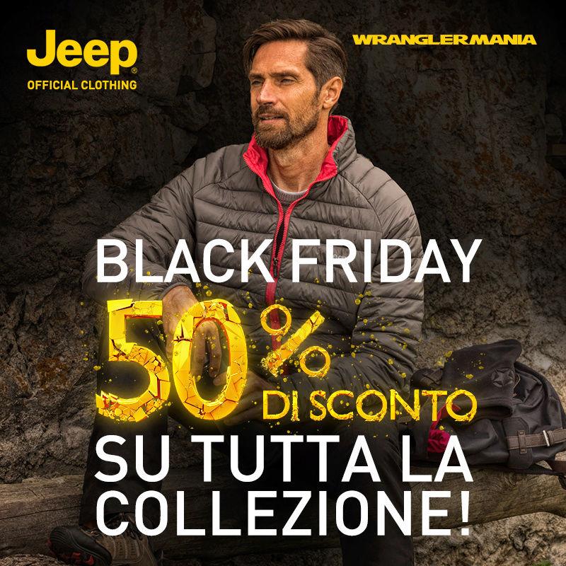 Are you Ready? Black Friday 50% di Sconto! Jeepou11