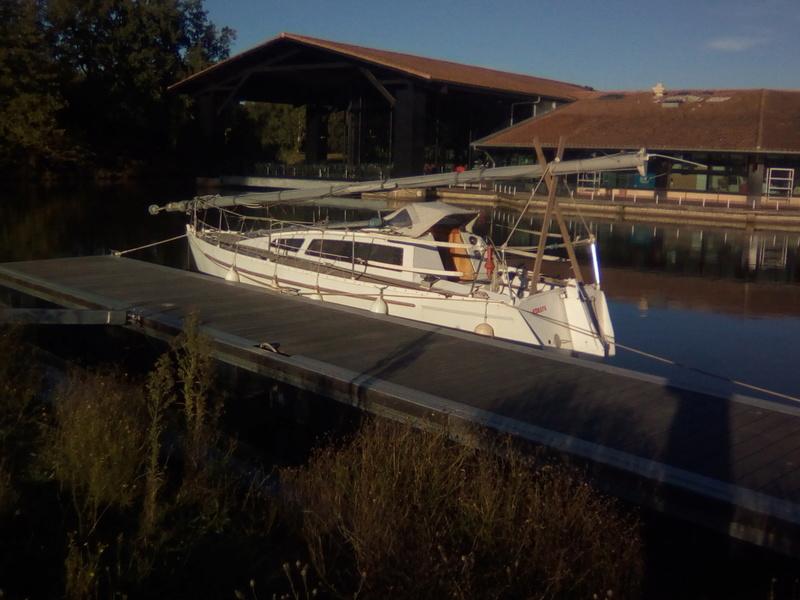 Le canal du Midi en solo Port-l10