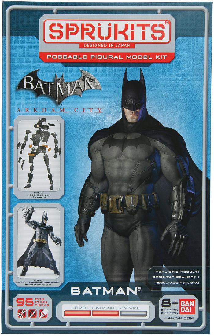 Batman: Arkham City Batman - Level 2 (Sprukits-Bandai) Batman16