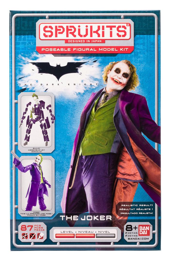 The Dark Knight The Joker - Level 2 (Sprukits-Bandai) Joker-10