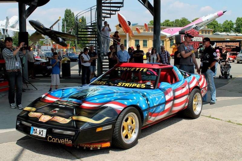 "Chervolet Corvette C4 ""Liberty"" MPC/ERTL 1:25 & Monogram 1:8 Img-2012"