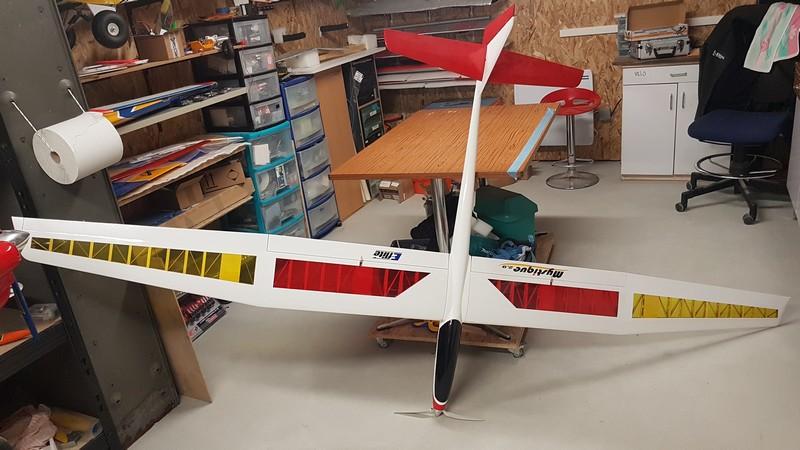Motoplaneur Eflite Mystique  2.90m 3 axes (reserver) 20200110