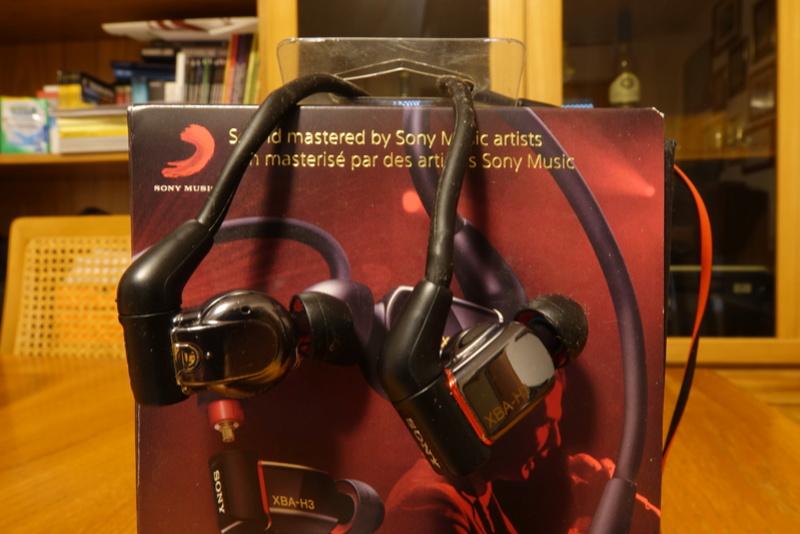 (RM) Sony XBA-H3 IEM auricolari tre vie triplo driver - VENDUTA Dsc01216