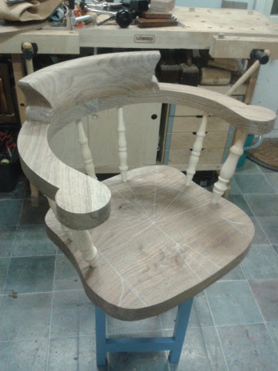 Chair #3: The smoker's bow 20170112
