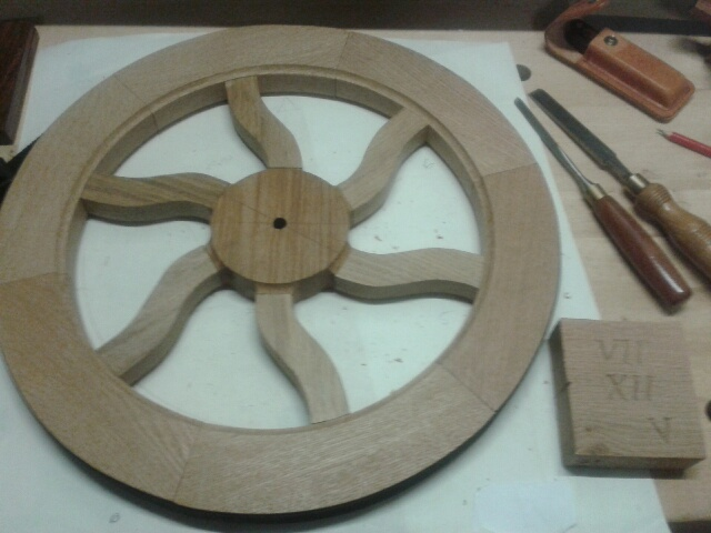 What have I done in the workshop today? - Page 5 Clock110