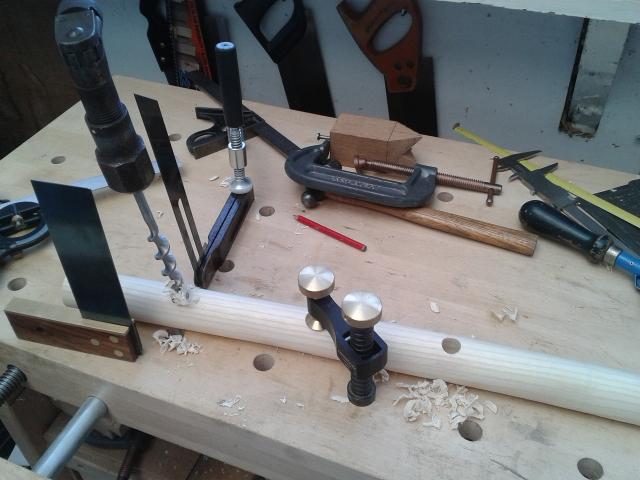 First Chair - work in progress Drilli10