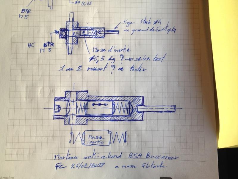 Essais pour diminuer la conso d'air sur une Buccaneer ? ressort valve marteau Img_2820