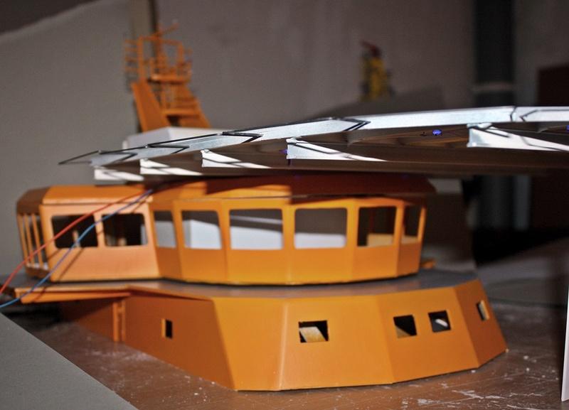 Bau eines X-Bow Schiffes in 1:50 A110