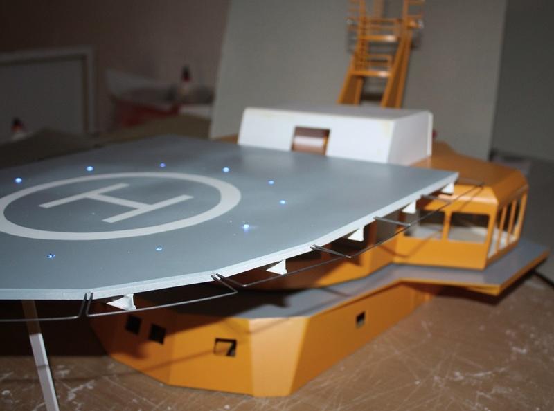 Bau eines X-Bow Schiffes in 1:50 A210