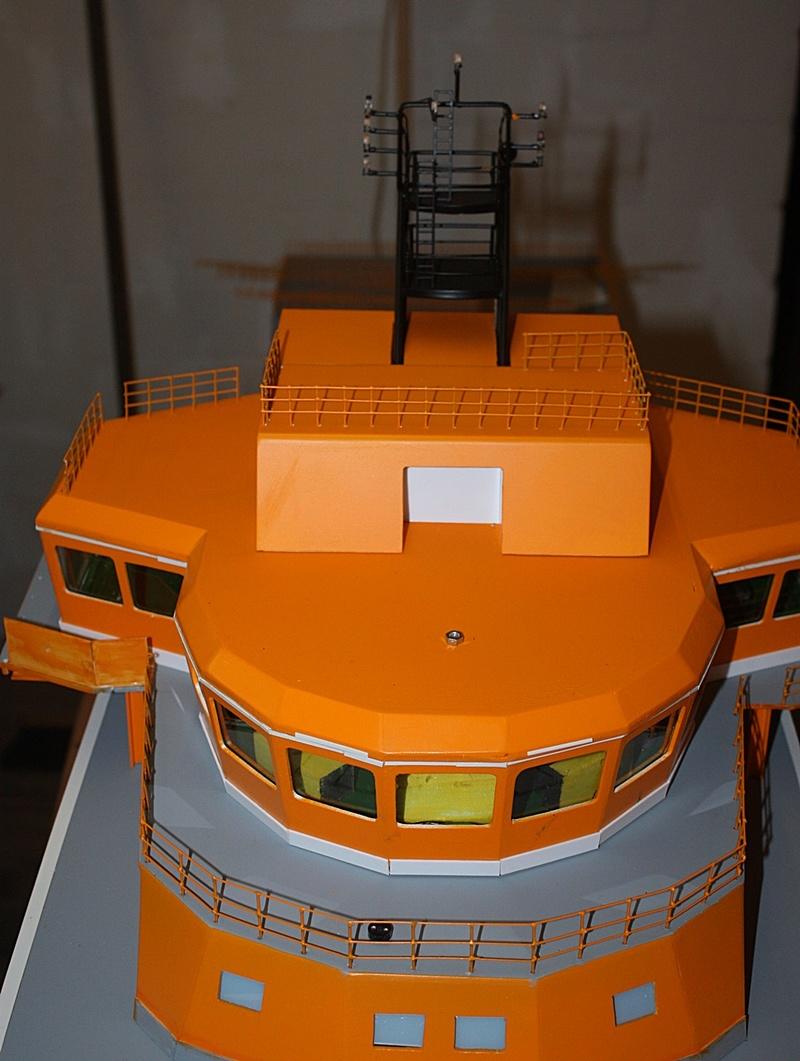 Bau eines X-Bow Schiffes in 1:50 Decka110