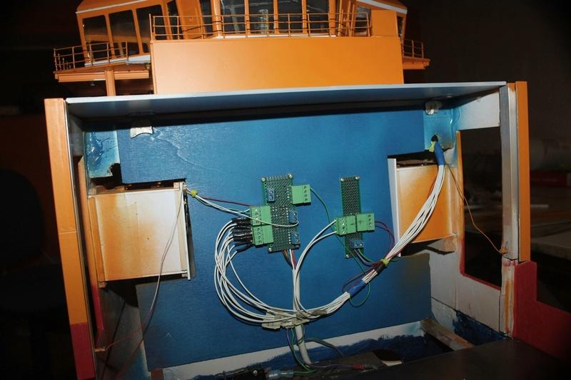 Bau eines X-Bow Schiffes in 1:50 Elek10