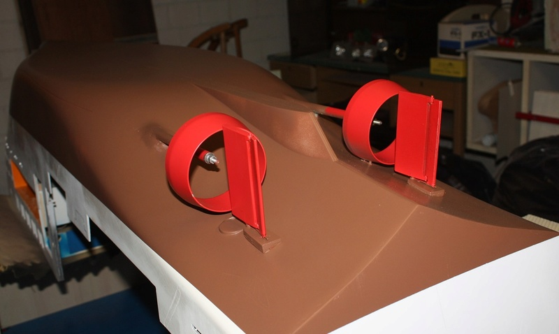 Bau eines X-Bow Schiffes in 1:50 Farbe110