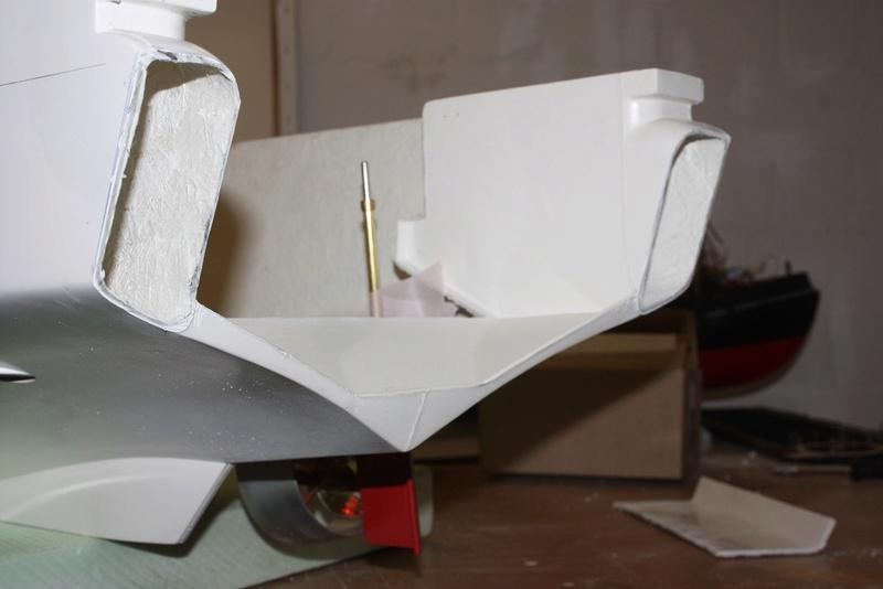 Bau eines X-Bow Schiffes in 1:50 Heck_a10