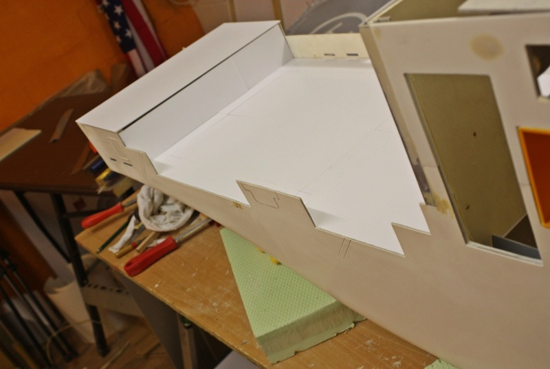Bau eines X-Bow Schiffes in 1:50 Hzzr10