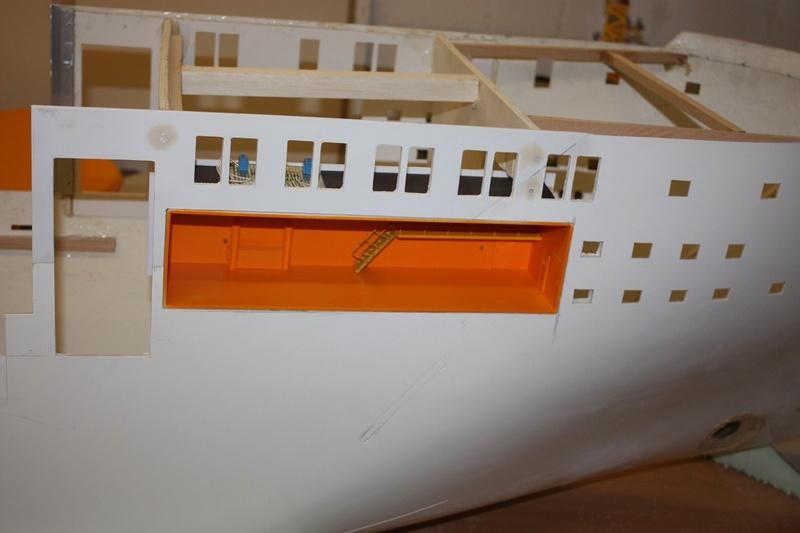 Bau eines X-Bow Schiffes in 1:50 Iiuzz10