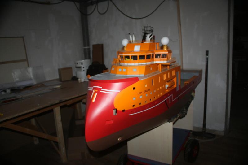 Bau eines X-Bow Schiffes in 1:50 Img_3811