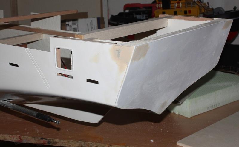 Bau eines X-Bow Schiffes in 1:50 Uuzmz10