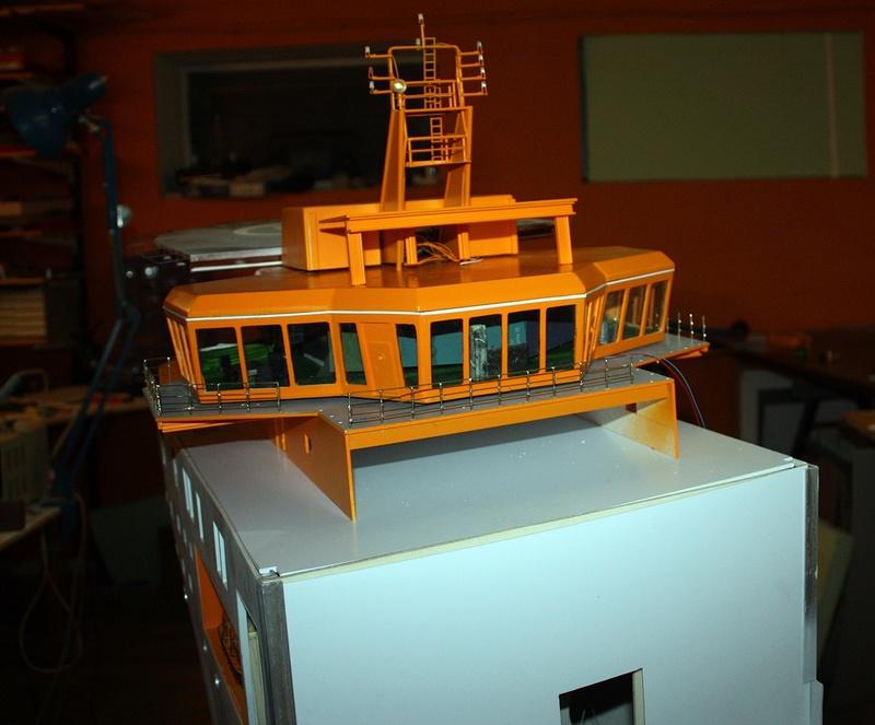 Bau eines X-Bow Schiffes in 1:50 Zz7711