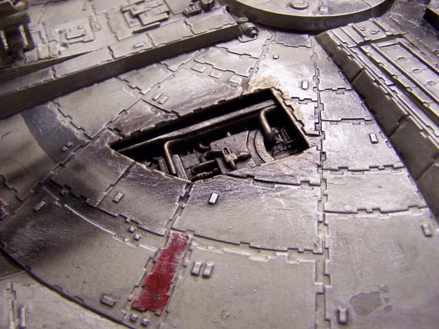 Meine Schrottmühle...Restauration eines Modells des Milenium Falcon vom AMT-Ertl 100_3614