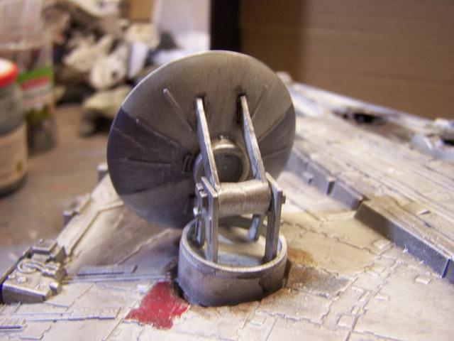 Meine Schrottmühle...Restauration eines Modells des Milenium Falcon vom AMT-Ertl 100_3618