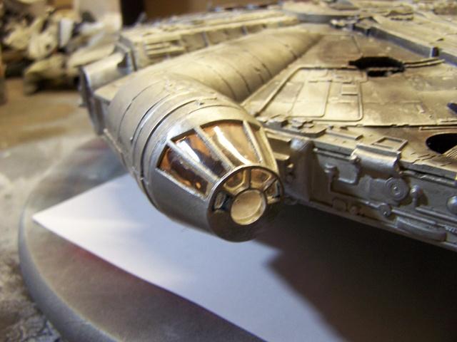 Meine Schrottmühle...Restauration eines Modells des Milenium Falcon vom AMT-Ertl 100_3619