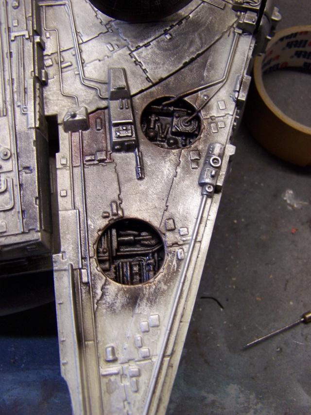 Meine Schrottmühle...Restauration eines Modells des Milenium Falcon vom AMT-Ertl 100_3628