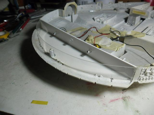 Meine Schrottmühle...Restauration eines Modells des Milenium Falcon vom AMT-Ertl 1212